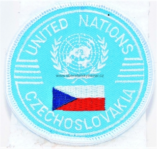 Nášivka ČSLA - United Nation