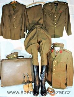 Set uniforem po kapitánovi dělostřelectva 1956-1962 empty d5a7e105fd